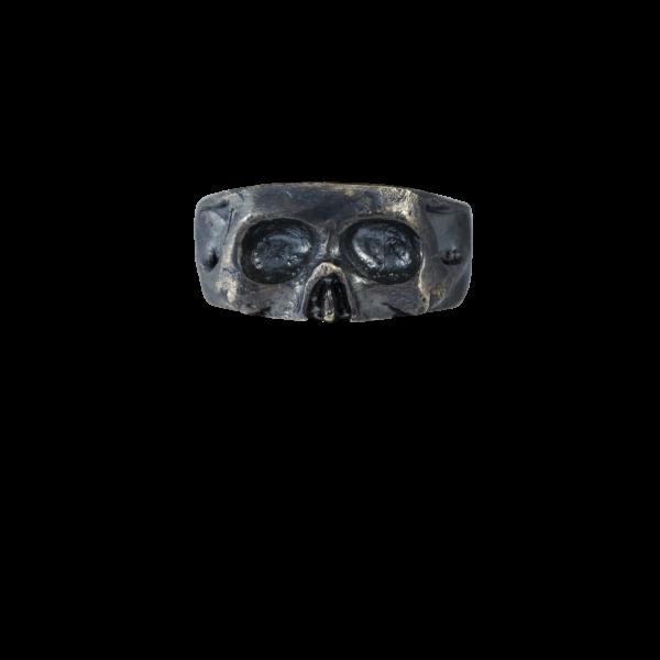 anello fascia in argento