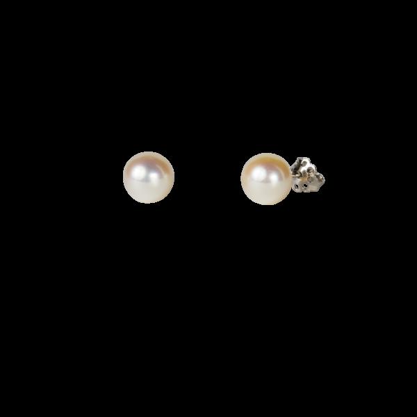 Orecchini perla giapponese