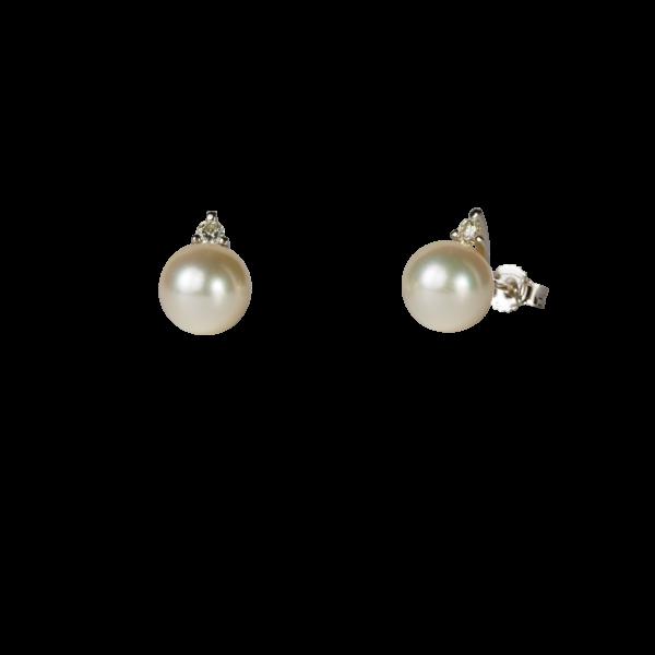 Orecchini Perla Mikimoto giapponese